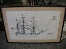 "Old Ironsides ""US Frigate Constitution"" Restoration Plan - Bicentennial Souvenir"