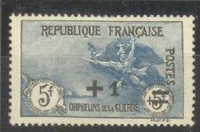 "FRANCE STAMP TIMBRE N° 169a "" LA MARSEILLAISE +1F SUR 5+5F 1922 "" NEUF xx TTB"