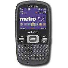NEW SAMSUNG FREEFORM R350 GRAY METROPCS QWERTY PHONE SB