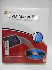 Pinnacle DVD Maker Plus Quickly Transfer VHS Tapes To DVD NEW OPEN BOX