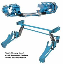 1965 66 67 68 69 70 Heidts Mustang II IFS and 4-Link Rear Suspension Package