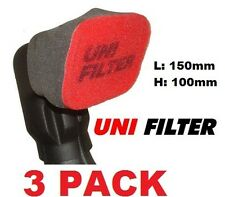 UNIFILTER Ram Head Cover Sock Safari snorkels & Airflow Snorkels 3PK Pre Cleaner
