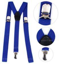 Bretelles bleus en polyester pour homme