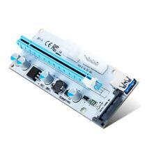 Riser PCI-E EXPRESS x1 a x16 USB 3.0 alimentato-PCE164P-N06 VER 008s   Mining $€ £