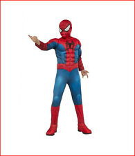 Marvel ULTIMATE SPIDER-MAN Muscle Chest Childs Dress-Up Costume - Small Size 4-6