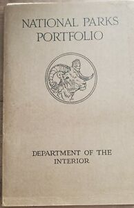 1916 National Parks Portfolio-Complete with all 10 Pamphlets and Cover