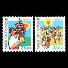 Madeira 1982 - National Customs - Brinco - Sc 86/87 MNH