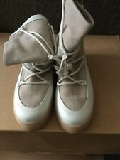 Taupe/Cream, Boots, Size 40; From Zara