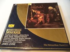 Opera Laser Discs; Wagner ~ SIEGRIED ~ James Levine at the Met ~ Ex ~ DGG