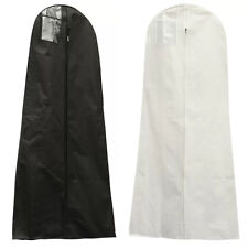 "72"" Showerproof Garment Dress Cover Long Bridal Wedding Dresses Storage Bag"