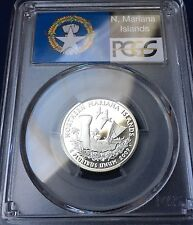 2009 S Northern Mariana Islands PCGS PF 69 DCAM 90% Silver Quarter (Flag Label)