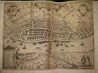 Willem Janszoon BLAEU (1571-1638) CARTE XVI VUE KAMPEN ZWOLLE HOLLANDE MAP 1600