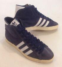 Da Uomo Adidas Originals Basket Profi Sneakers Alte UK 8 nezza RARE VINTAGE ROM