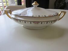 Cleveland China Covered Oval Vegetable Dish