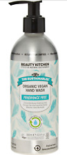 BEAUTY KITCHEN Unscented Organic Vegan Hand Wash 300ml metal recyclable
