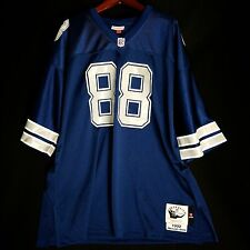 100% Authentic Michael Irvin Cowboys Mitchell Ness NFL Jersey Mens Size 56 3XL