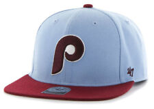 PHILADELPHIA PHILLIES FLAT BILL SNAPBACK SURE SHOT 2-TONE CAP HAT NEW '47 BRAND