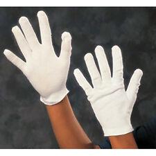 1 O 10 Paia Di Guanti Cotone Bianco Da Lavoro Taglia S M L Divisa Parata 380