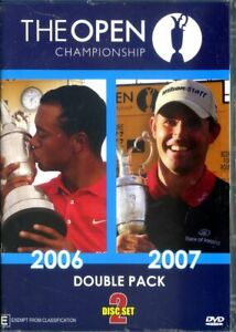 The Open Championship - 2006/2007 Double Pack (DVD) - Brand New