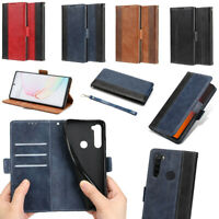 For Xiaomi Redmi Note 7 8 Pro Magnetic Leather Case Flip Wallet Card Slot Cover