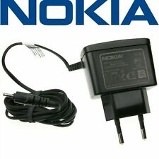 Genuine NOKIA EU Charger AC-3E for ALL NOKIAS with Small 2.5mm Pin Socket NEW