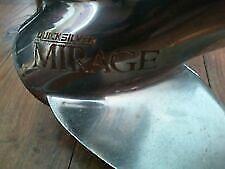 SS#286 Mercury Mirage 14.625x23 LH 3BL Stainless Steel Propeller