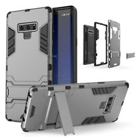 For Samsung Galaxy Note 9 Hybrid Rugged Armor Case Hard Rubber Shockproof Cover