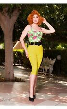 Pinup Girl Clothing Deadly Dames Capri Pants