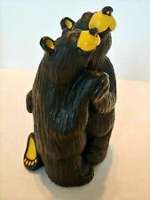 Bearfoots Bears Bearfoot Swing Figurine Big Sky Carvers Jeff Fleming ~Ships Free