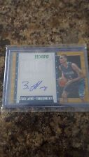 Zach Lavine panini 2014-15 autograph card NBA HOOP Great Significance