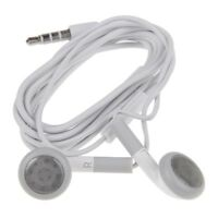 AURICULARES Blancos para iPhone iPad iPod MP3 MP4 Auricular Earphones