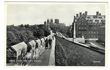 York From City Walls - Photo Postcard c1940s