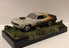 1969 Chevy Camaro 1/64 Diecast Custom Rusty Weathered Diorama Barn Find Drag Car