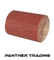Silverline Decorators 10m Aluminium Oxide Sandpaper Roll 10M Various Grit Sizes