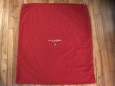 Lancel Oversize Dust Bag Red  organiser Sac