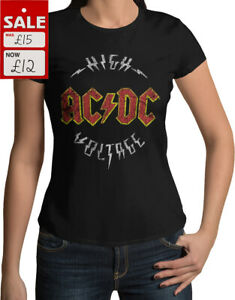 AC/DC High Voltage - Official Licensed Merch New Skinny Fit T-shirt (SALE!!!)