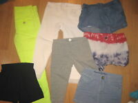 Huge lot girls 5-6 TCP Cherokee shorts leggings pants Cat & Jack Zara kids
