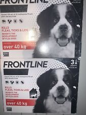 FRONTLINE Spot on Flea and Tick Treatment for Extra Large Dogs 40-60kg - 6 Pip