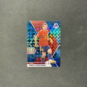 2021 Mosaic Soccer MIKEL OYARZABAL #169 RARE GENESIS CASE HIT PRIZM SSP Spain