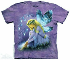The Mountain Purple Winged Fairy Angel Fantasy T-Shirt (Sm - 3X) New