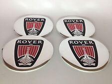 Autocollant Sticker Centre de Roue Cache Moyeu Jante Alu pour ROVER 4 x 60mm