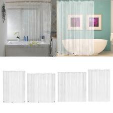 PEVA Shower Curtain Liner for Bathroom, Waterproof Bath Curtains