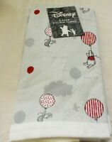 DISNEY WINNIE THE POOH PIGLET KITCHEN TOWELS 2-PACK HELLO BALLOON FLYING HIGH