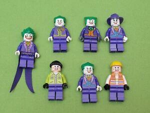 Lego Batman Joke Figuren zum Auswählen 7782 7888 6863 6857 70900 76013 76035