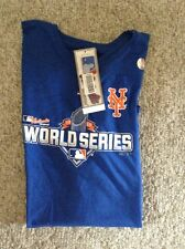 NY Mets Women's Royal World SeriesT-Shirt - Size XL -brand New With Tags