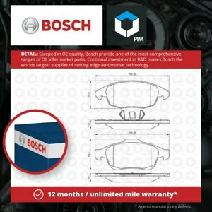 Brake Pads Set fits DS DS5 150 180 2.0D Front 15 to 18 Genuine Bosch Guaranteed