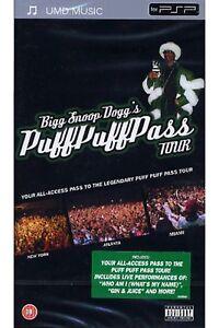 PSP UMD - BIGG SNOOP DOGG'S PUFF PUFF PASS TOUR *** NEU ***