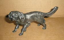 Metal  Dog Figurine Spaniel
