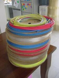 Gaine thermorétractable couleur, longueur & diamètre au choix. De 1 à 6 mm