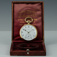L. Leroy & Cie, Paris ca. 1900 Obsavatoriums Chronometer, 18k gold Original Box